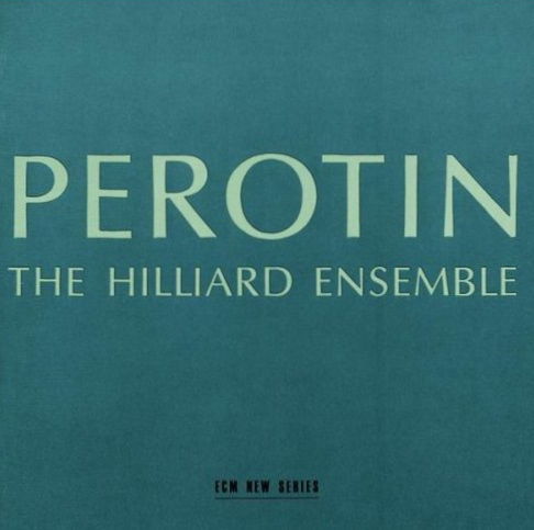 The Hilliard Ensemble: Perotin (ECM New Series 1385) – Between Sound and  Space: ECM Records and Beyond