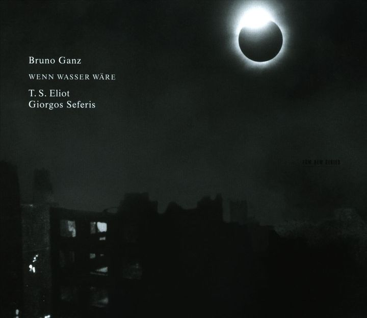 Bruno Ganz Between Sound And Space Ecm Records And Beyond
