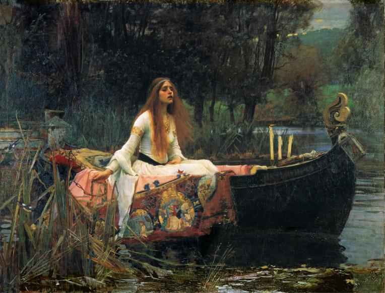 Waterhouse Lady of Shalott