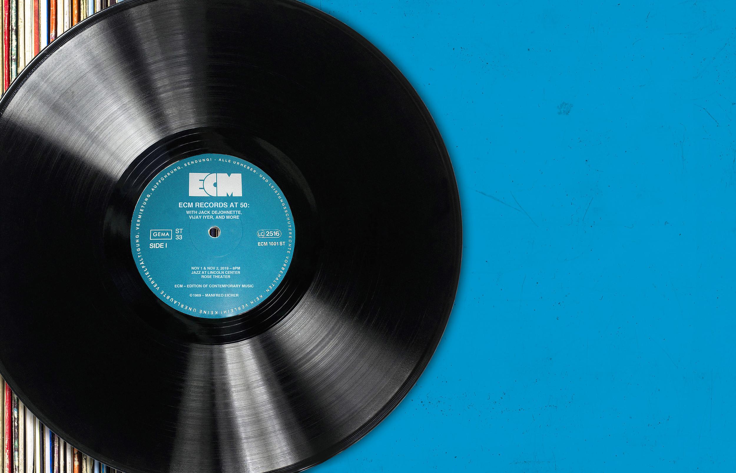 ECM Records at 50